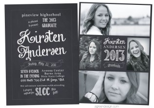 Graduation Announcement 2013