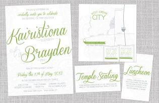 Wedding Invitation 2013